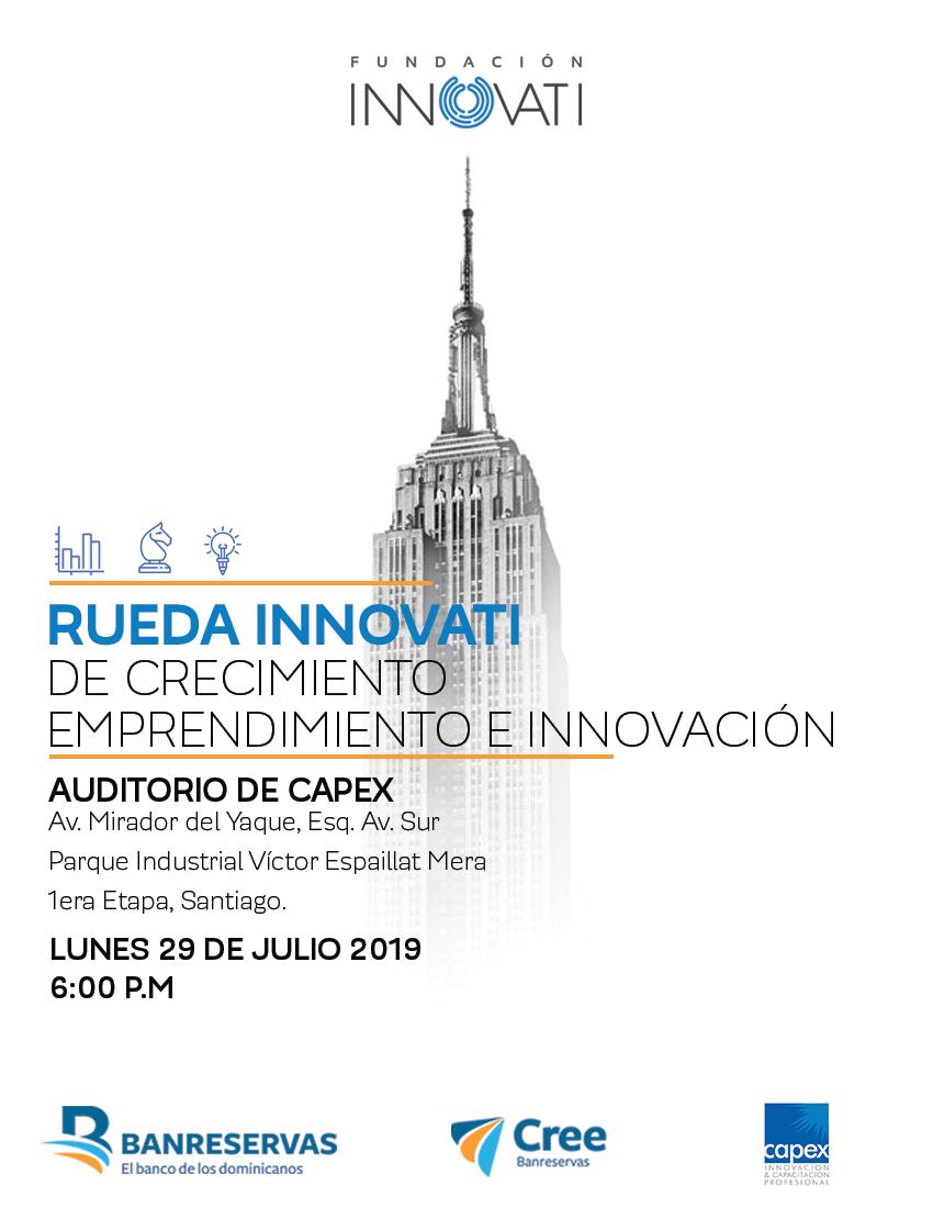 Rueda Innovati De Crecimiento, Emprendimiento E Innovación